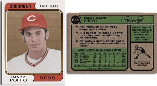 Randy Poffo Rookie Card